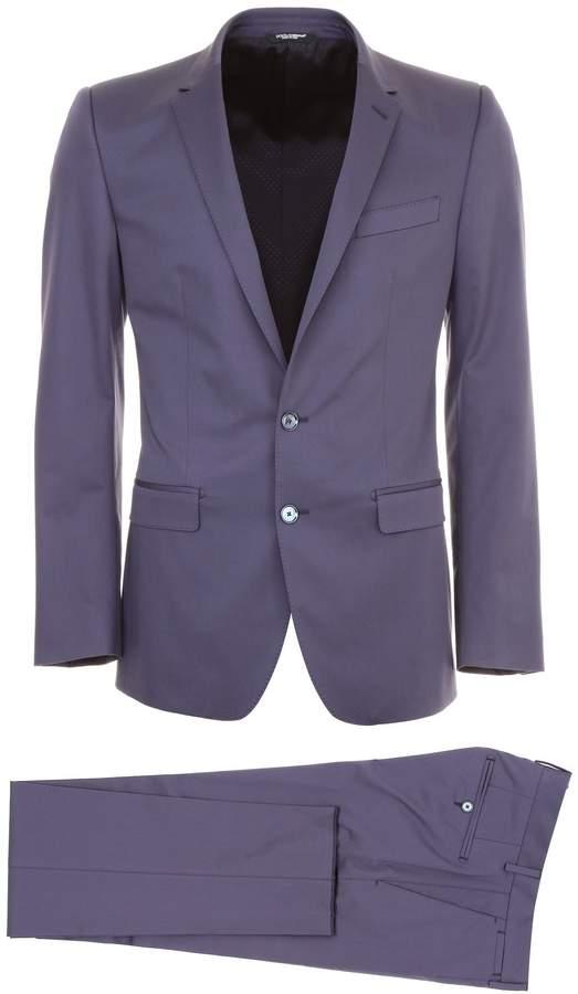 Dolce & Gabbana Cotton Two-piece Suit