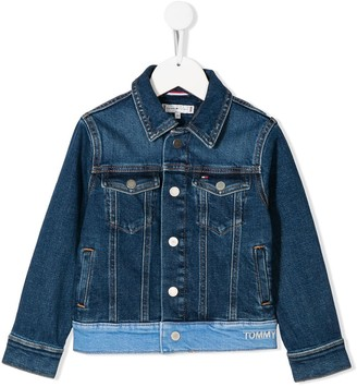 Tommy Hilfiger Junior Denim Patchwork Jacket
