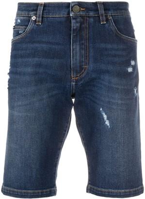 Dolce & Gabbana Slim-Fit Denim Shorts