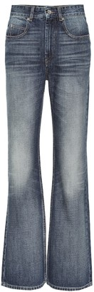 Etoile Isabel Marant Belvira high-ruse flared jeans