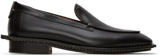 Lanvin Black Calfskin Loafers