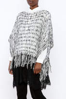 And'or Open Knit Poncho