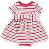 Kate Spade Baby Girls 3-9 Months Jillian Skirted Striped Bodysuit-Dress