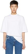 Balenciaga White femme Fatale T-shirt