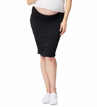 Cake Maternity Women's Ruched Fitted Skirt