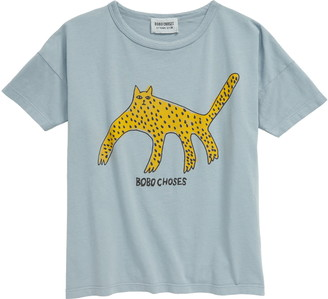Bobo Choses Leopard Graphic Tee