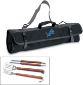 Picnic Time Detroit Lions 4-pc. Barbecue Tote Set