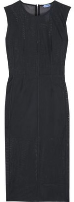 Thierry Mugler Stretch-mesh Dress