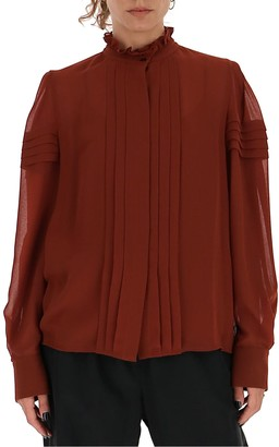 See by Chloe Pleated Shirt