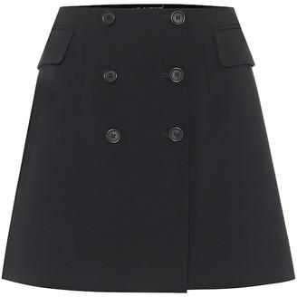 Dolce & Gabbana Stretch-wool miniskirt