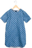 Stella McCartney Girls' Denim Star-Embroidered Dress
