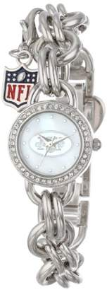 Game Time Women's Charm NFL Series' Quartz Metal and Alloy Casual Watch