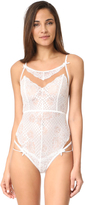 For Love & Lemons Daffodil Lace Bodysuit