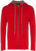 Alanui Bandana zip-up hoodie