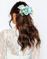 Asos WEDDING Mid Flower Hair Corsage