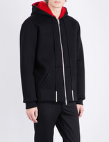 Givenchy Fleece-lined neoprene jacket