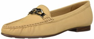 Driver Club Usa Women's Leather Made in Brazil Chain Buckle Loafer
