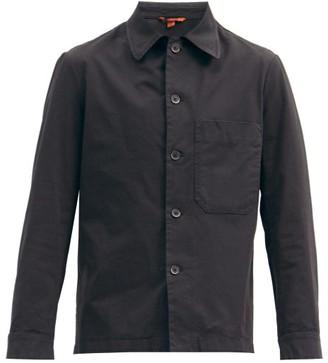 Barena Cedrone Cotton-blend Canvas Overshirt - Black
