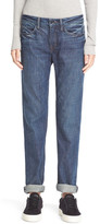 Helmut Lang Relaxed Rolled Dark Blue Jean