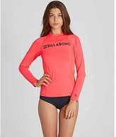 Billabong Women's Surf Dayz Wetshirt Long Sleeve Rashguard