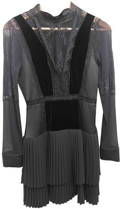 Twin-Set Twin Set Black Lace Dress for Women