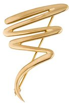 Tiffany & Co. 18K Scribble Brooch Pin