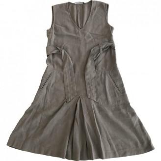 Theory Grey Linen Dress for Women