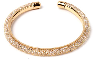 Amrita Singh Women's Bracelets Gold - Austrian Crystal & Goldtone Pave Bangle