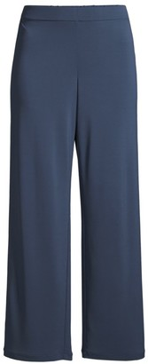 Lafayette 148 New York Riverside Matte Jersey Cropped Pants