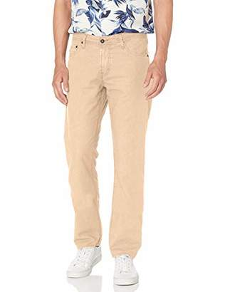 AG Adriano Goldschmied Men's The Graduate Tailored Leg Linen Pant
