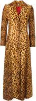 Women's Biba Maxi-length leopard print coat