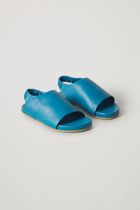 Cos Elasticated Leather Sandals