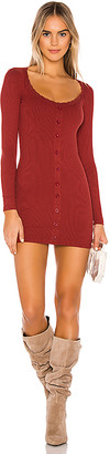 superdown Amalia Button Front Dress