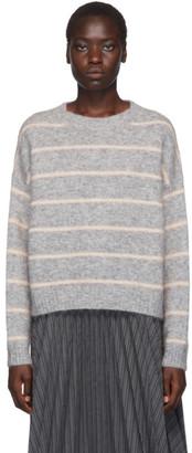 Acne Studios Grey Mohair Khira Sweater
