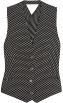 Temperley London Phoenix Jacquard Vest - Black