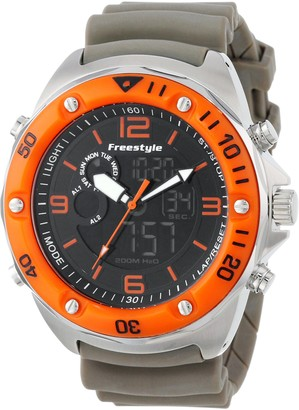 Freestyle Men's Watch XL Precision 2.0FS84944Analogue Digital Rubber