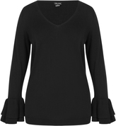 City Chic Double Frill Jumper