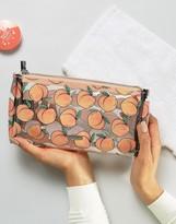 Skinnydip Peach Make Up Bag