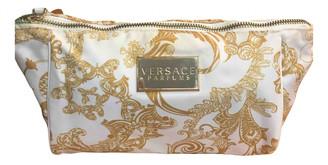 Versace Palazzo Empire Yellow Cloth Handbags