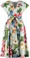 Dolce & Gabbana Midi Dress With Belt
