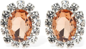 Area Costume Crystal Clip-on Earrings