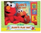 Sesame Street A Box Full of Fun! Book and Plush Elmo Toy