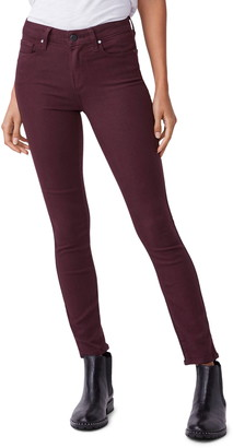 Paige Transcend Hoxton High Waist Ankle Skinny Jeans