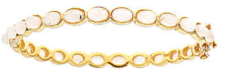 Forever Creations Usa Inc. Forever Creations 18K Over Silver 25.00 Ct. Tw. Moonstone Bangle