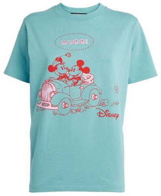 Gucci X Disney Mickey And Minnie Mouse T-Shirt