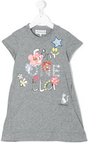 Simonetta printed T-shirt dress