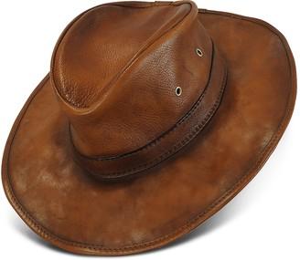 Pratesi Genuine Leather Hat