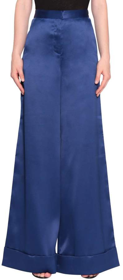 Self-Portrait Self Portrait Satin High-waist Pants