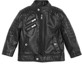 Urban Republic Boys' Faux Leather Jacket - Baby