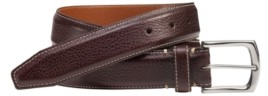 Johnston & Murphy Top-Stitched Belt